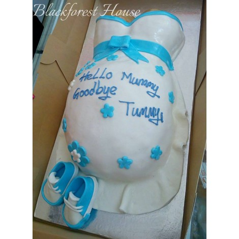 Baby Shower Themed Cake