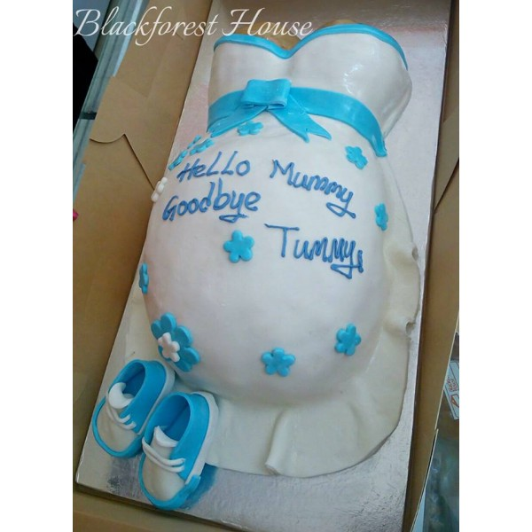 Baby Shower Themed Cake