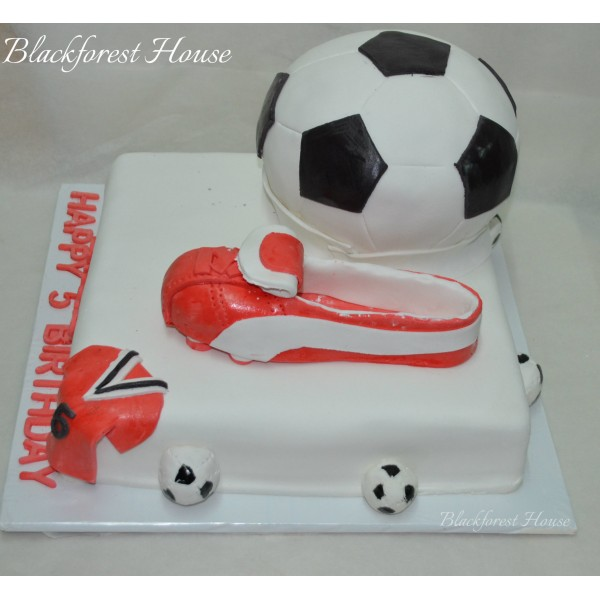 Soccer 2 Themed Cake