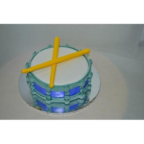 Drum Themed Cake