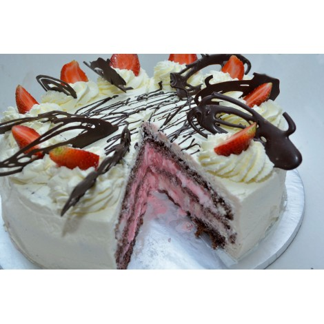 Ice Cream Forest Cake