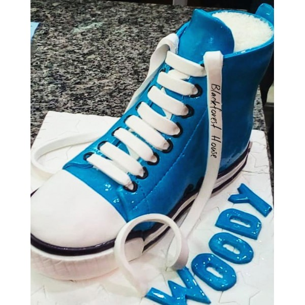 Converse Shoe Themed Cake